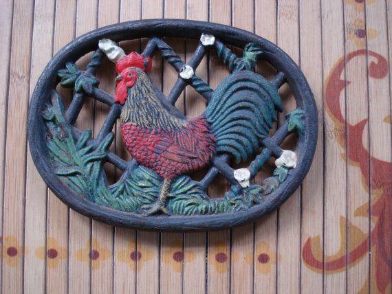 43 Trivet Collection Ideas Trivet Rooster Trivets