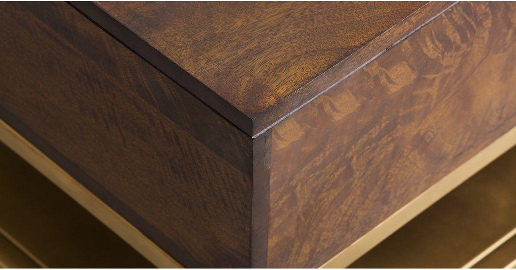 Lomond Table Basse Avec Plateau Relevable Et Compartiment