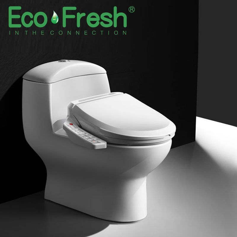 Ecofresh Smart Toilet Seat Washlet Electric Bidet Cover