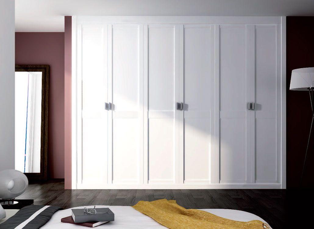 Modelo armario blanco armarios in 2019 armario blanco - Puertas correderas armarios empotrados ...