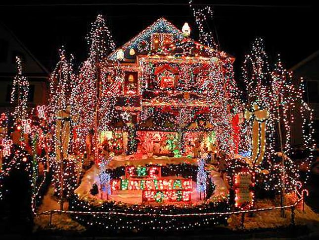 Crazy Christmas Lights 15 Extremely Over The Top Outdoor Displays Best Christmas Lights Christmas Lights Decorating With Christmas Lights