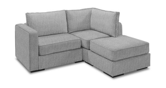 Chaise Sectional Loveseat | 3 Seats + 4 Sides | Furniture | Small ...