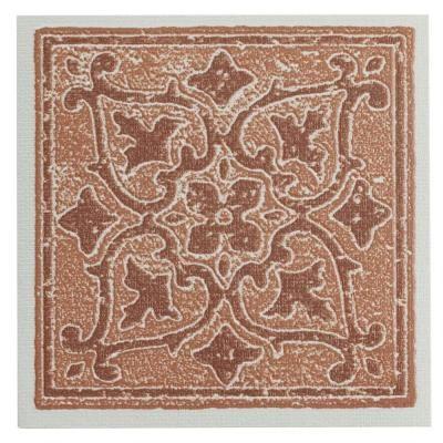 Home Depot Decorative Tile Nexus Wall Tiles Vinyl 4 Inx 4 Inselfsticking Terra Accent