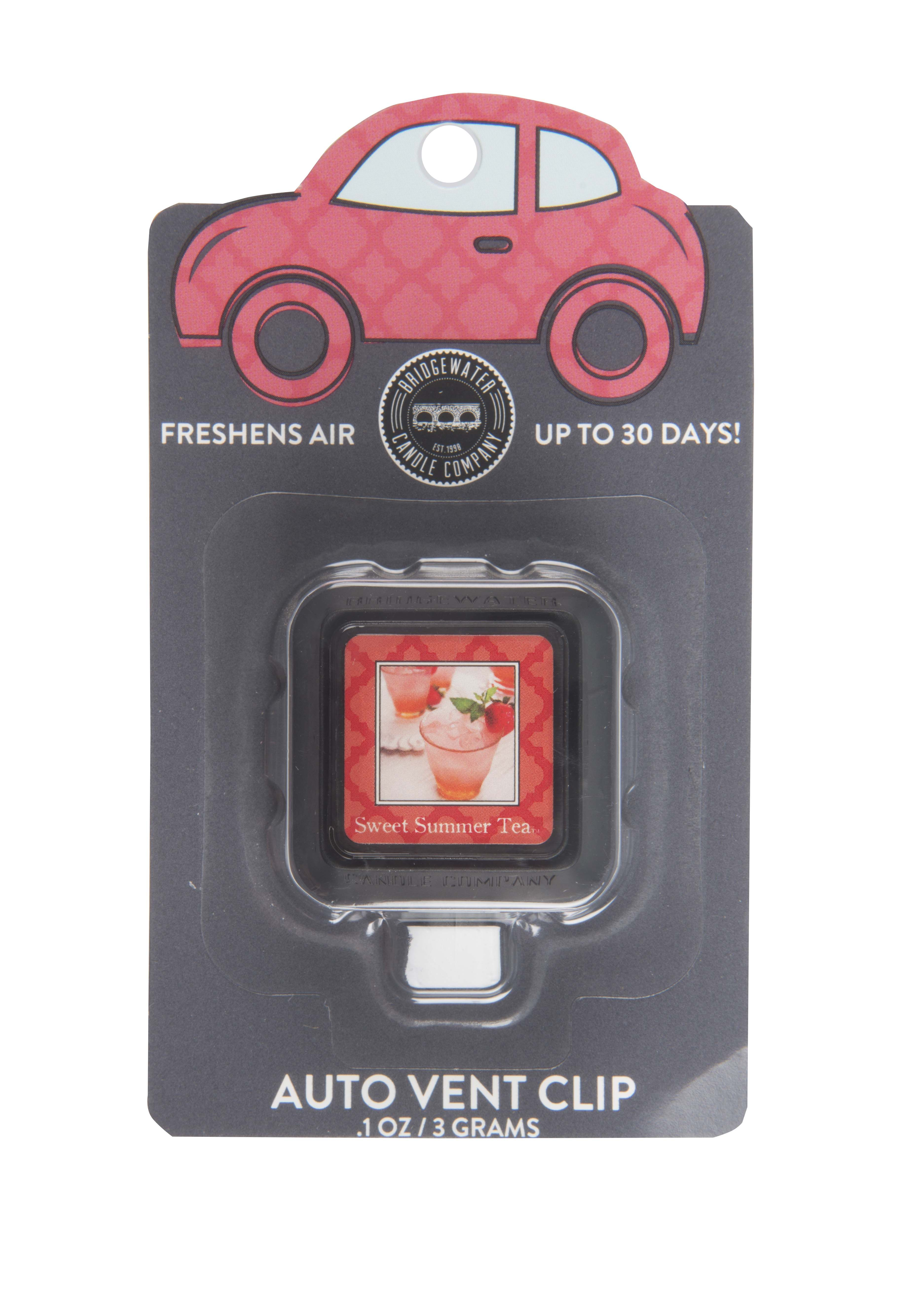Sweet Summer Tea Car Freshener Innovative technology