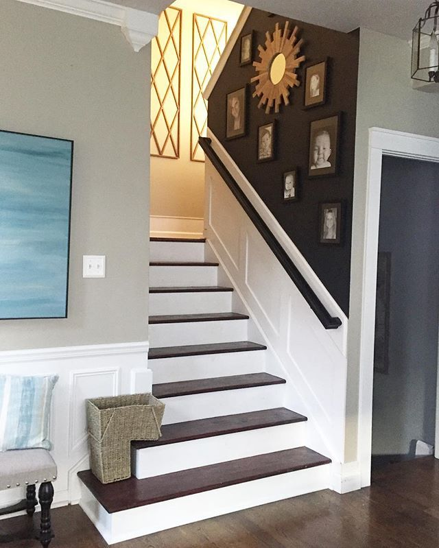 Lighting Basement Washroom Stairs: Love When That Evening Light Comes Down The Stairs! And I