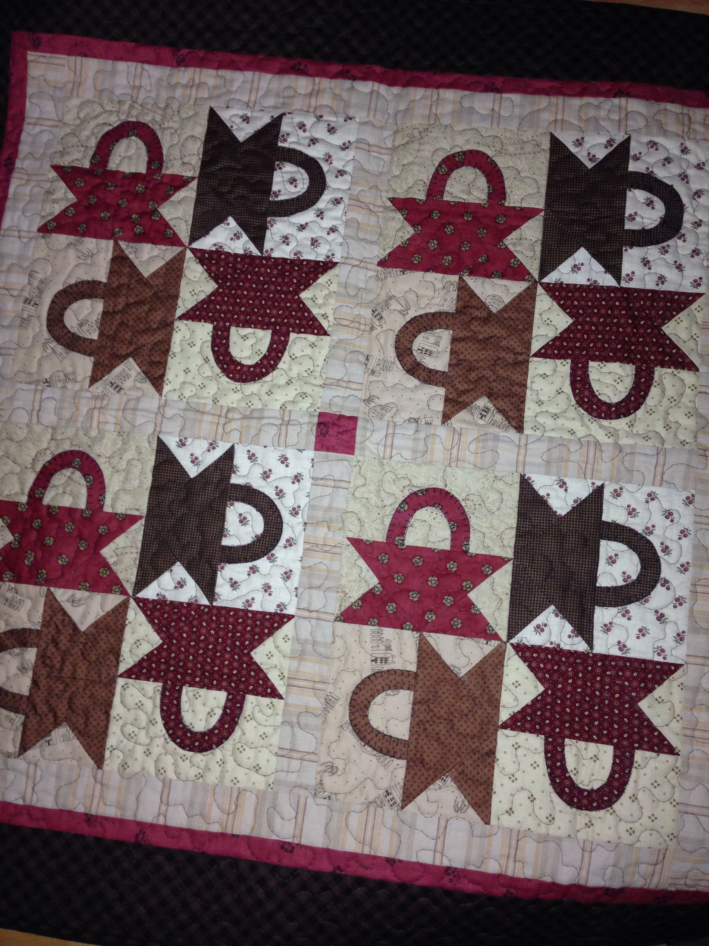 This Basket Quilt Was A Mystery Quilt Done With The Guild At A Potluck So Much Fun Mary Ann Caba Quilts Small Quilts Basket Quilt