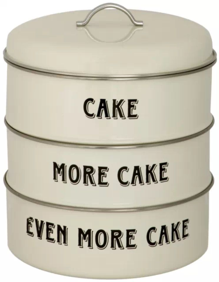 Three Tier Cake More Cake Baking Kitchen Tin Metal Storage Box Set In 2020 Cake Storage Cake Carrier Three Tier Cake