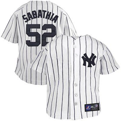 info for 73880 59ea4 Majestic CC Sabathia New York Yankees #52 Infant Pinstripe ...