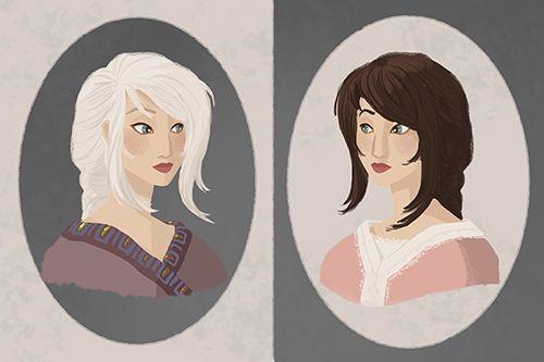 Recherche personnages - Neve / Anna