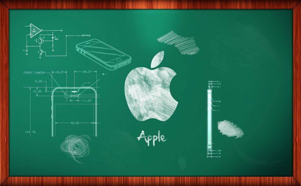 Apple Chalkboard Hd Wallpaper Apple Ipad Wallpaper Ipad Mini Wallpaper Apple Images