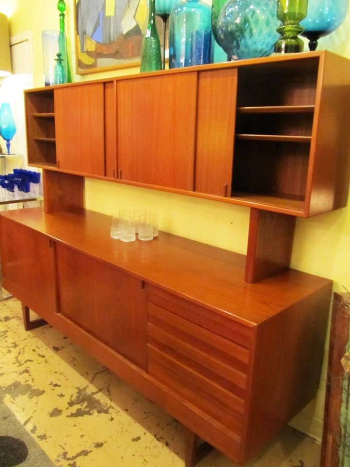1960's Teak hutch and buffet