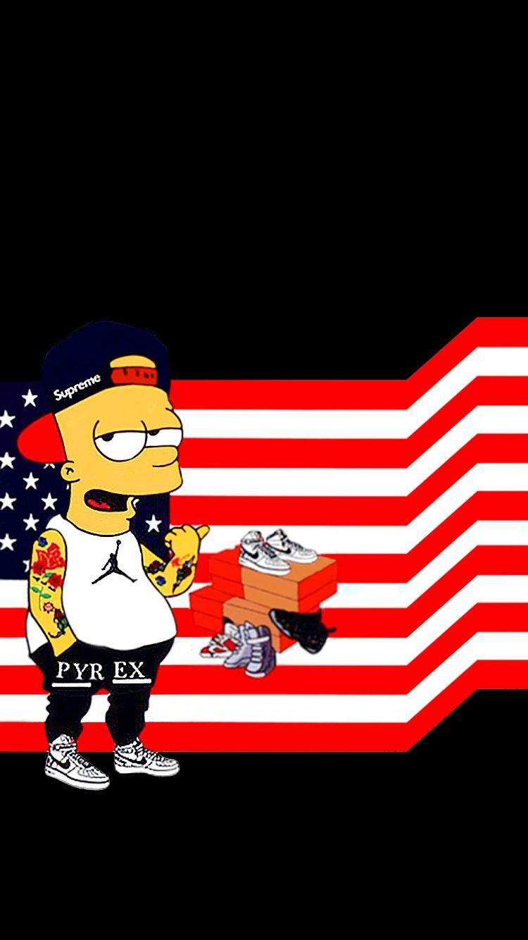 Pin On Bart Simpson Art
