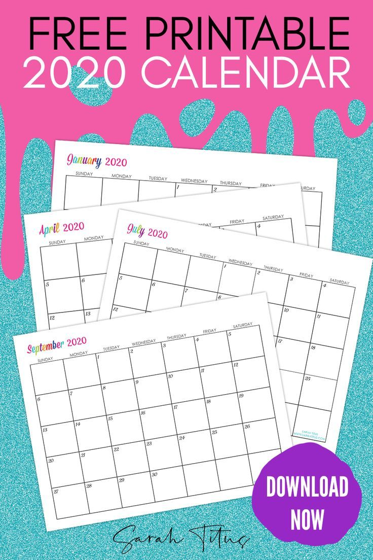 Custom Editable 2020 Free Printable Calendars is part of Calendar printables, Printable calendar download, Free printable calendar monthly, Schedule printable free, Monthly calendar printable, Free printable calendar - Custom Editable 2020 Free Printable Calendars  Use them for menu planning, homeschooling, blogging, or just to organize your life
