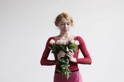 Iana Salenko modeling for Designed by Alice