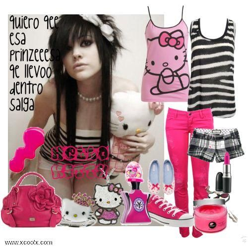 Pin By Juul S On Harley Outfit Ideas Cute Emo Girls Scene Girls Emo Hair