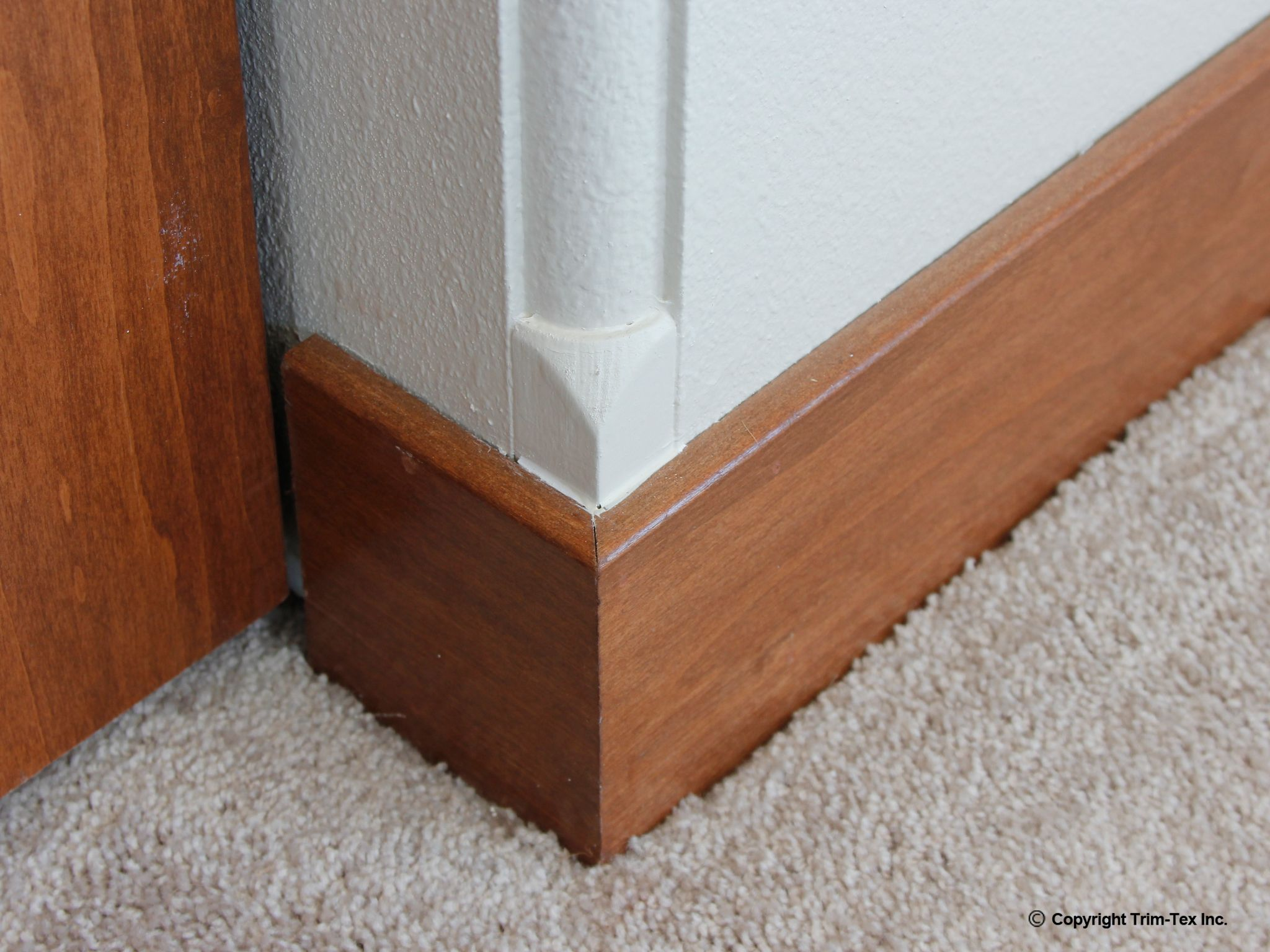 This Step A Bull Adapter Transitions Rounded Corners Into Square Corners For Installing Base Board Drywall Corners Crown Molding Trim Tex