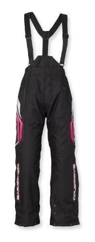 COLDWAVE SNO FIRE WOMENS SNOWMOBILE PANTS PINK 6 by Coldwave. $110.24. New to the sport of snowmobiling or looking for entry-level gear that fits your budget? The Trail Collection offers jackets, bibs and pants for men and women what will keep you comfortable and dry. Garment Type Traditional pant Waterproofing Water-resistant PU coating Outershell Materials 600D Velocity Cordura Insulation Fixed 200g/m2 Multi-layer Fibrefill insulation Other Details Full length ...