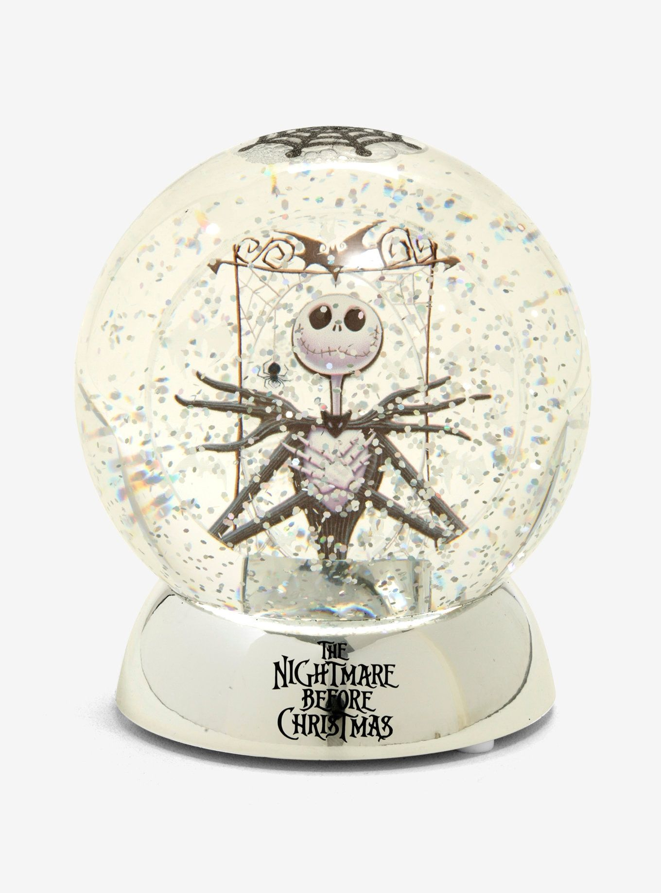 The Nightmare Before Christmas LightUp Water Globe