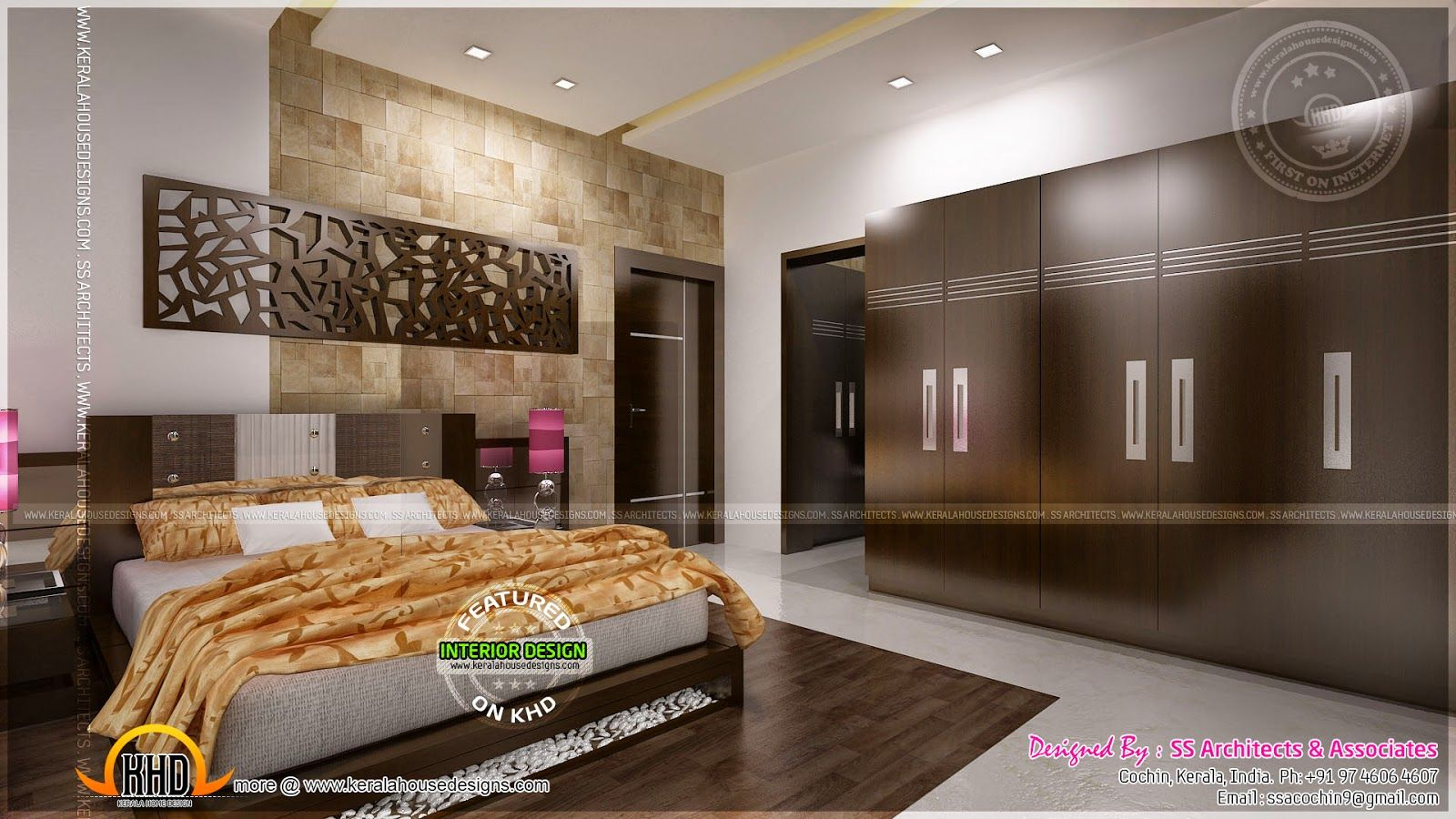Kerala home design interior bedroom - Indian Bedroom Interiors Google Search