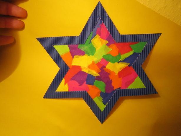 Leuchtender Stern Fürs Fenster Basteln Weihnachten Fenster