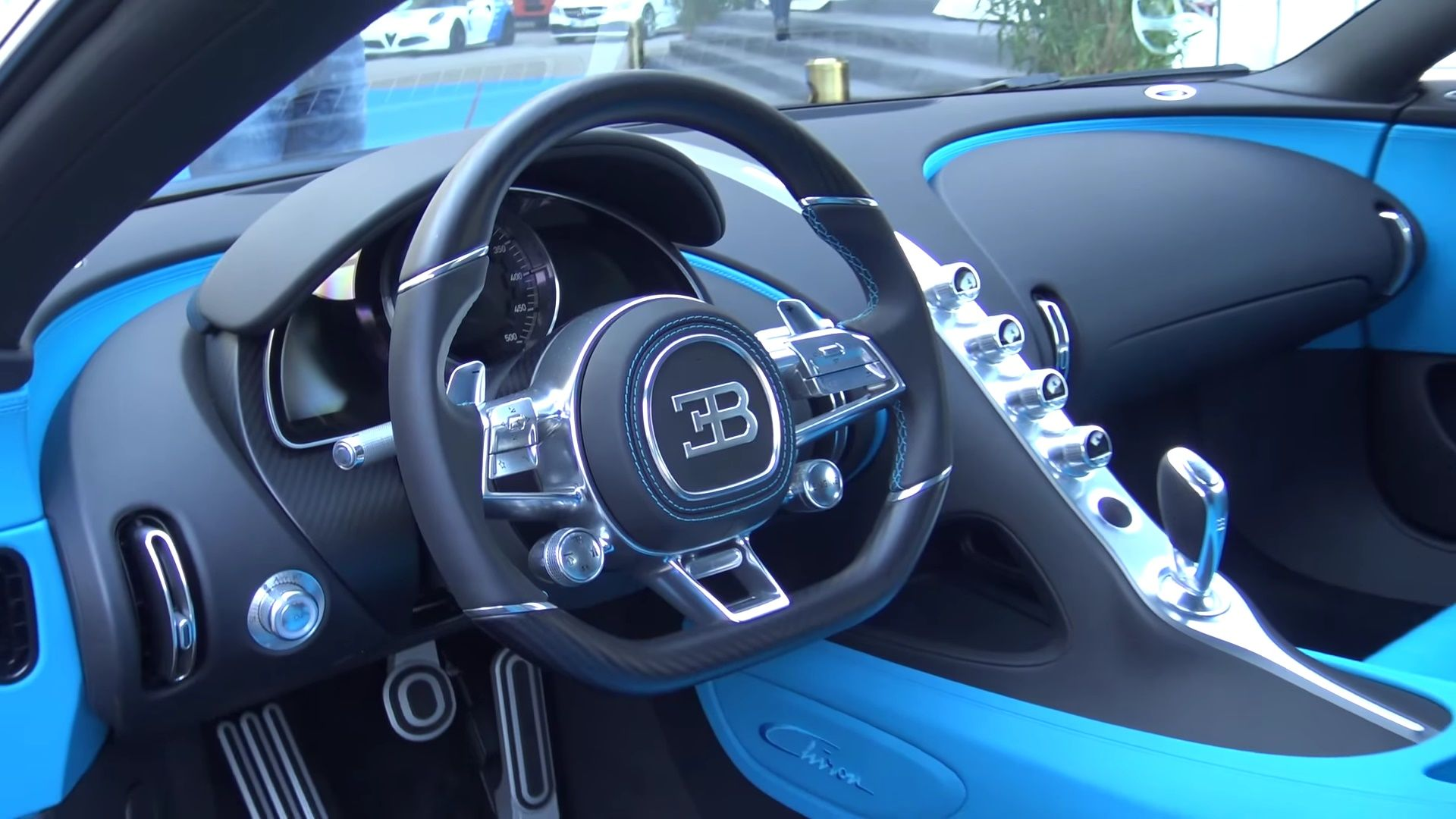 1500hp bugatti chiron interior view black and blue interior 3 auto addiction interiors. Black Bedroom Furniture Sets. Home Design Ideas