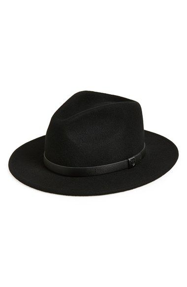 4fd6f231d86 Brixton  Messer  Fedora available at  Nordstrom