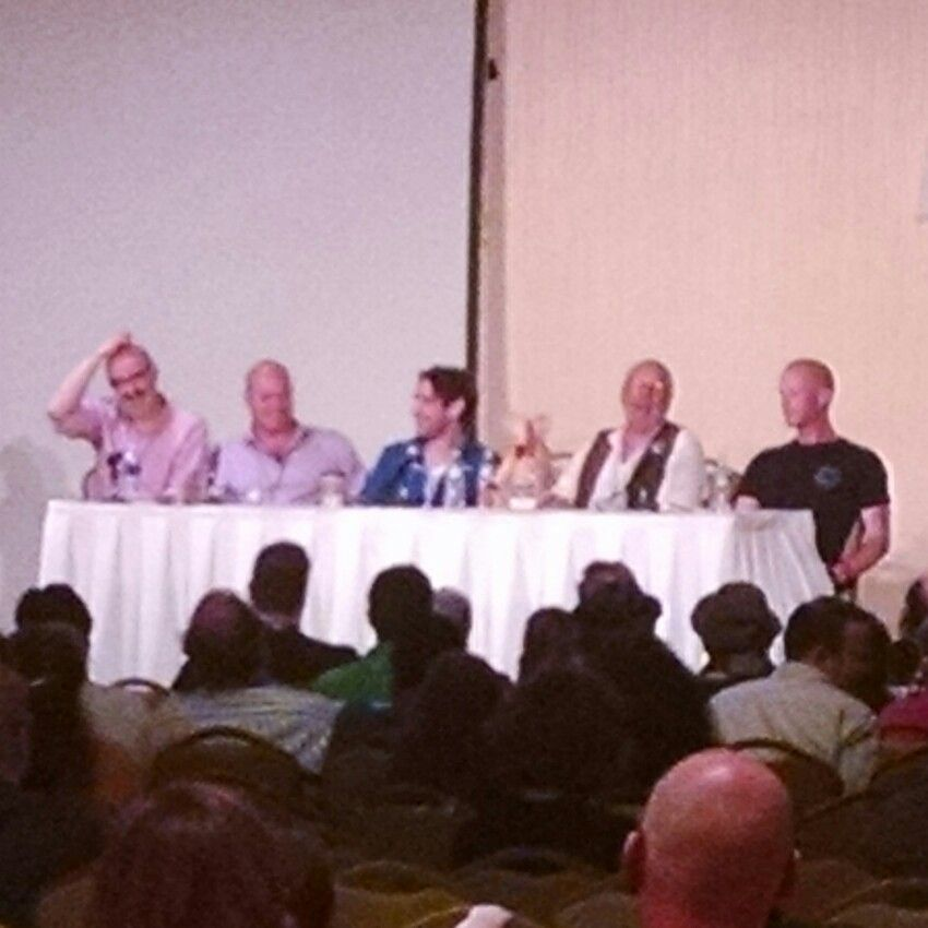 Talking #BigFinish #audio at #timegate2016 #TimeGate #DoctorWho
