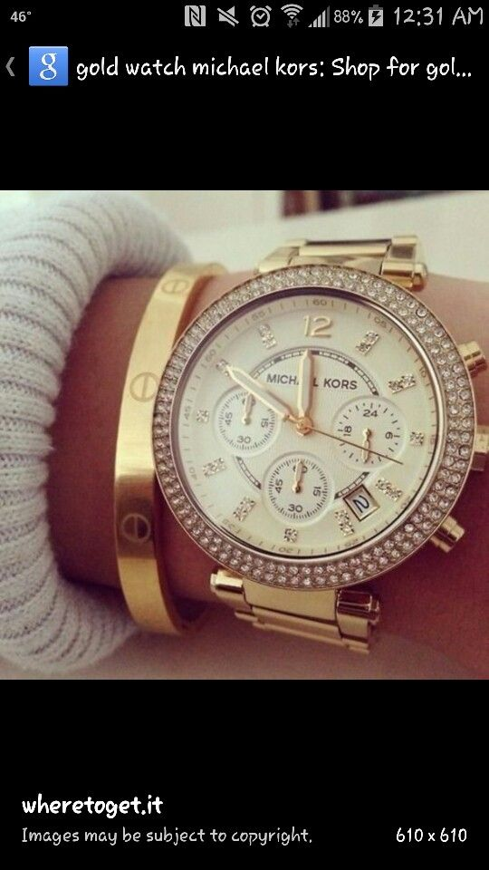 Michael Kors   I'm in love.  Soo want this one