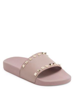 d8e30d5e8d58 VALENTINO Rockstud Pvc Slides.  valentino  shoes  slides