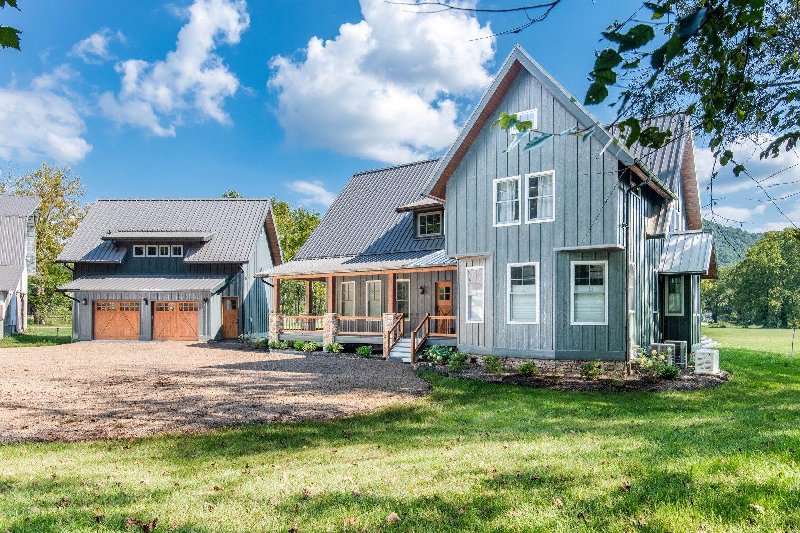Modern Farmhouse built by Judd Builders near Asheville, NC