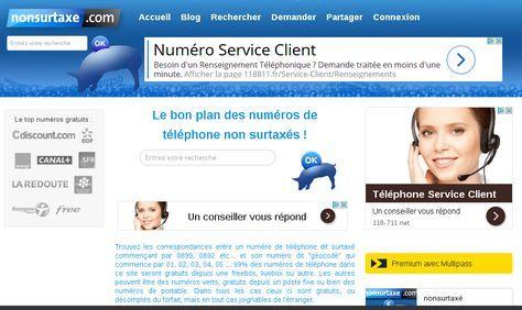 Le bon plan des numéros de téléphone non surtaxés