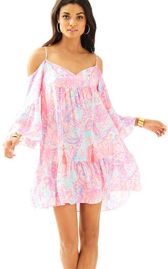a12fcda1a03266 Lilly Pulitzer Alanna Off The Shoulder Dress | New Arrivals ...