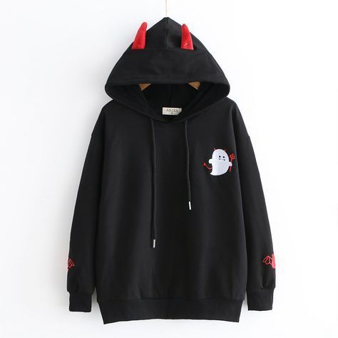 "Photo of Kawaii Devil Hoodies – YihFoo Bruk kupongkode ""YFGirl"" få 10% avslag #kawaii # …"