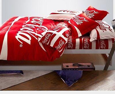 Pin On Coca Cola Collectibles, Coca Cola Bedding