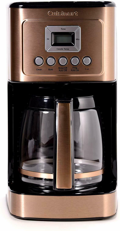 Cuisinart 14 Cup Programmable Coffee Maker Hd In 2020 4 Cup Coffee Maker Cuisinart Coffee Maker Single Cup Coffee Maker