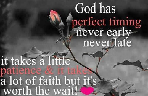 God's Perfect Timing
