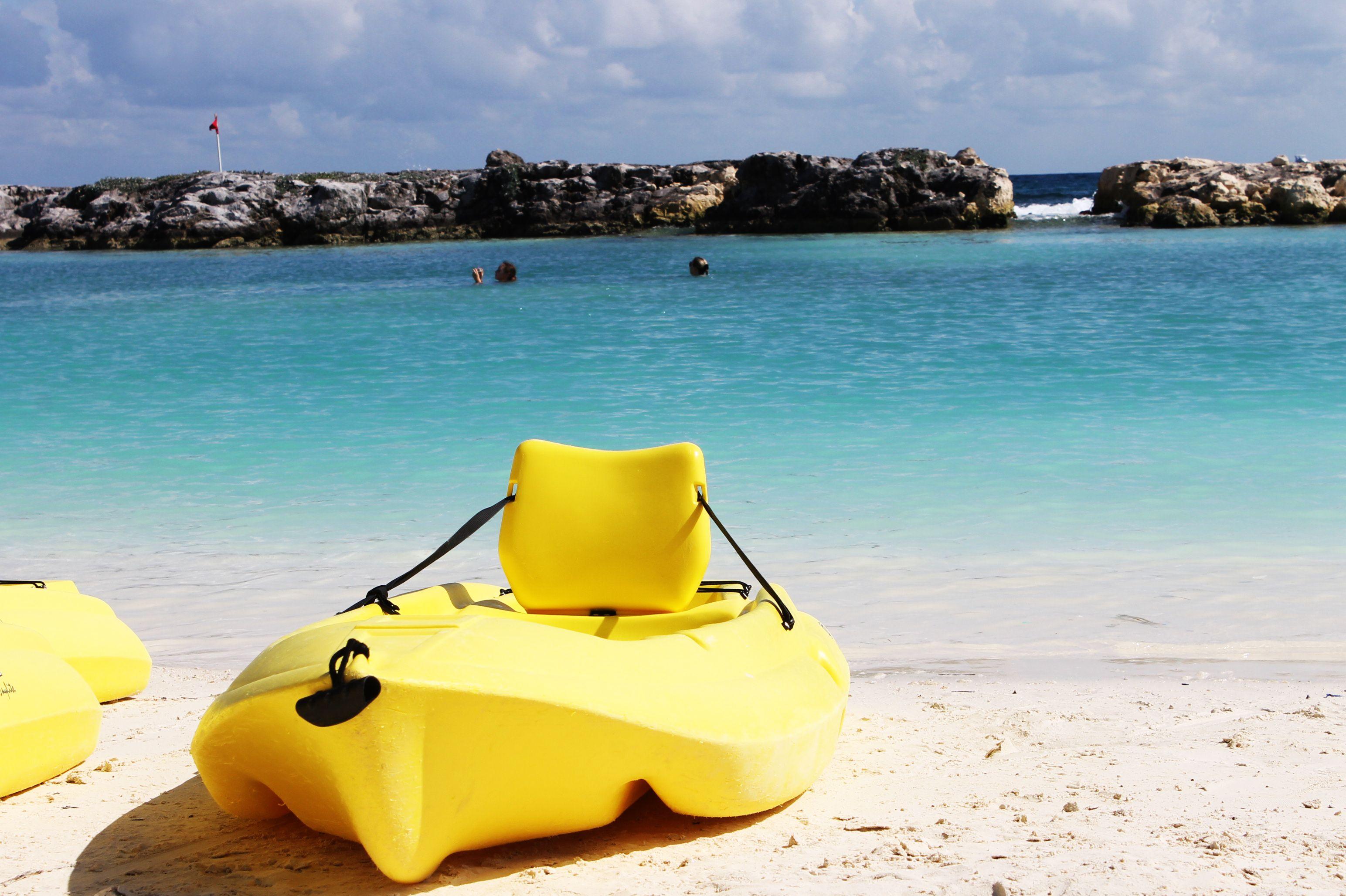Kayak On The Hard Rock Hotel Riviera Maya Beach Playa