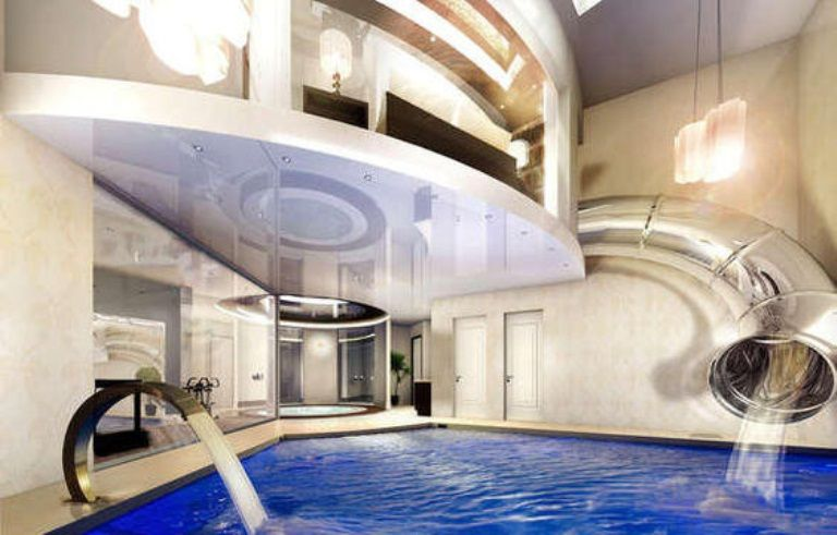 Super Cool Mansion With An Indoor Water Ride In England | DigsDigs  #architecture #design