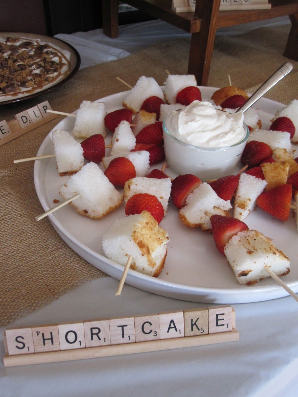 shortcake on a stickgreat summertime dessert