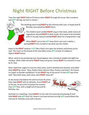 Intrepid image regarding christmas left right game printable