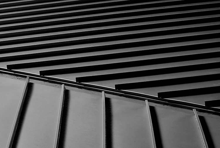 STANDING SEAM : A Metal Roofing Seam In Which Adjacent Sheets Of Material  Are Turned Up
