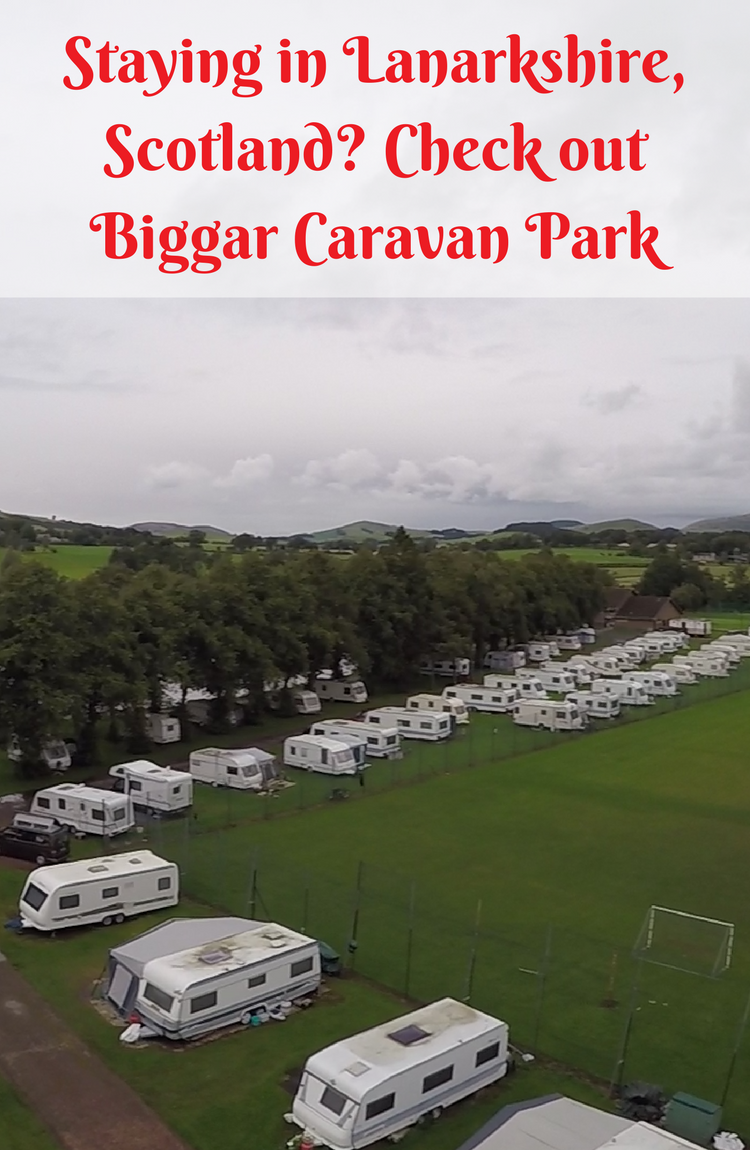 Check out Biggar caravan park for holidaying, play park and other family fun | Lanarkshire | South Lanarkshire | Camping Scotland | Scotland | family travel in Scotland | family travel | travel with kids | Scotland family travel | caravan Scotland | Caravan park Scotland