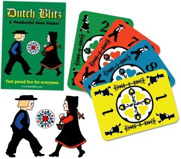 Dutch Blitz Expansion Pack Board Game Kids Family Fun Play Gift