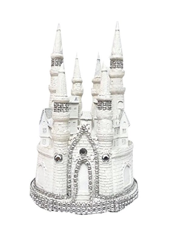Marvelous Kitchen Decor 9 H Fairytale Castle Cake Topper Centerpiece For Funny Birthday Cards Online Inifofree Goldxyz