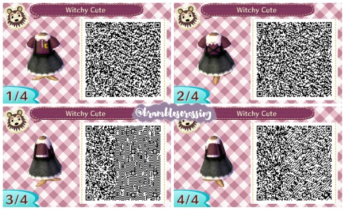 Pin on ACNL Clothing QR Codes
