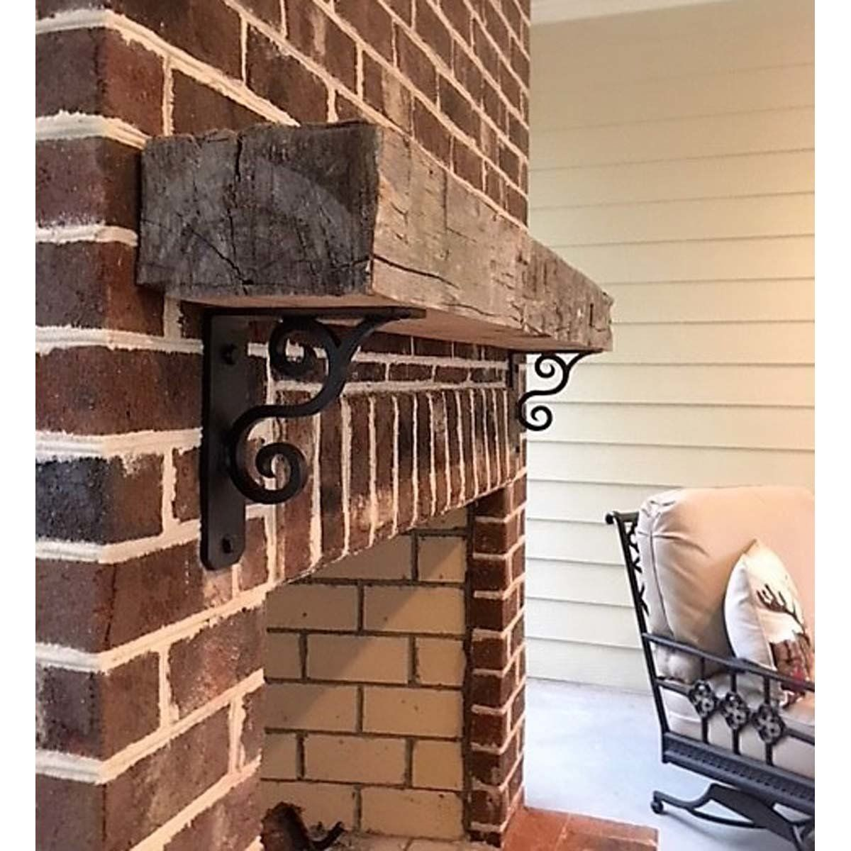 L Angle Decorative Scroll Gusset Steel Fireplace Mantle Support Bracket Corner Mantle Decorating Blogs Wood Joints