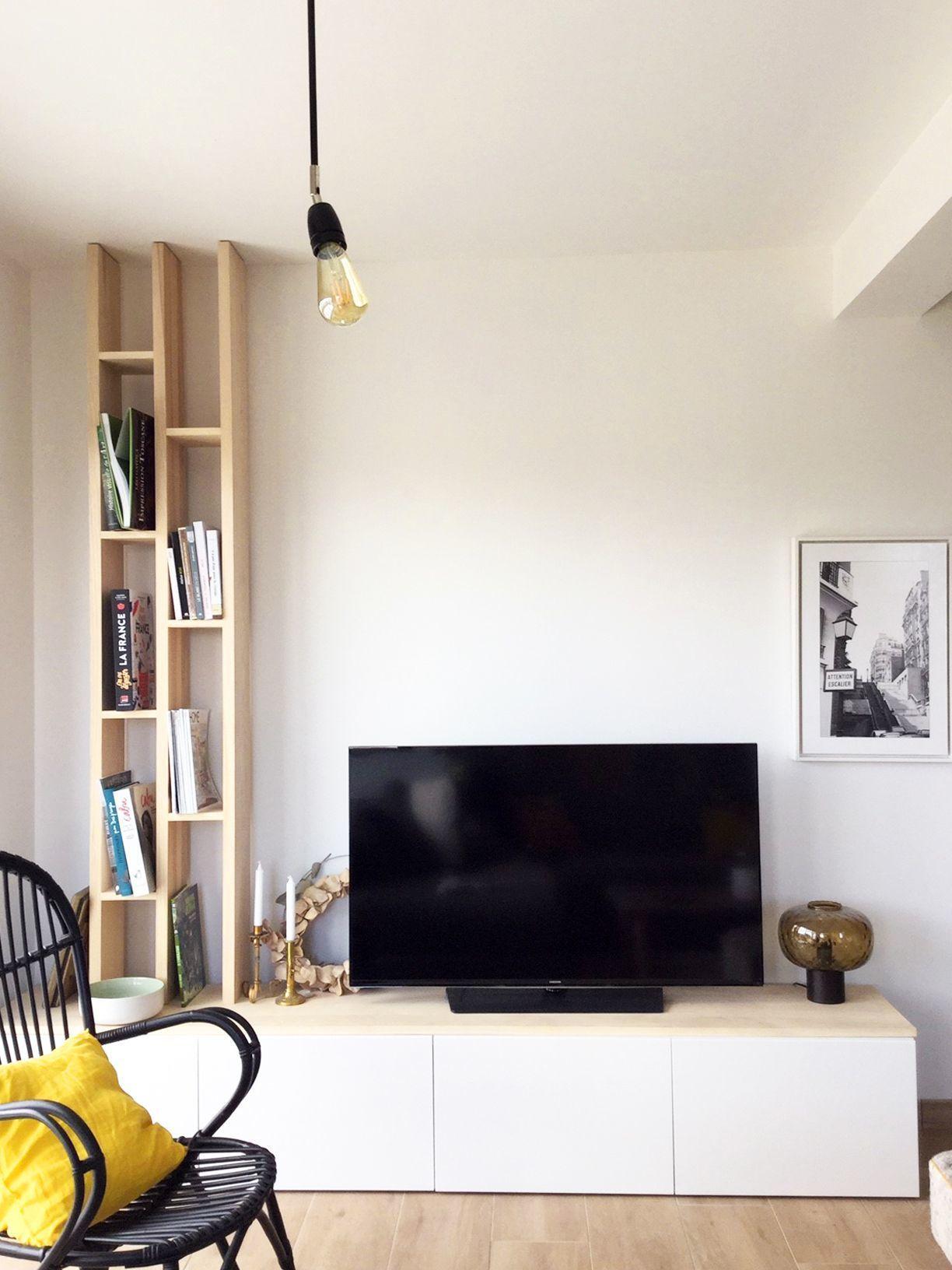 Decoration Et Amenagement D Une Maison Neuve A Bayeux Pres De Caen Living Room Decor Apartment Salon Maison Salon Tele