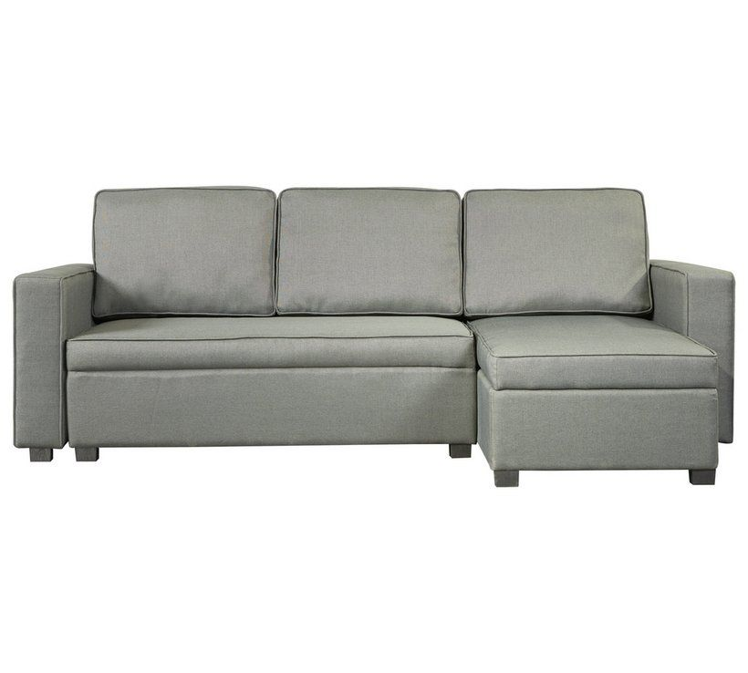 Incredible Buy Argos Home Eddie Right Hand Storage Sofabed Charcoal Bralicious Painted Fabric Chair Ideas Braliciousco