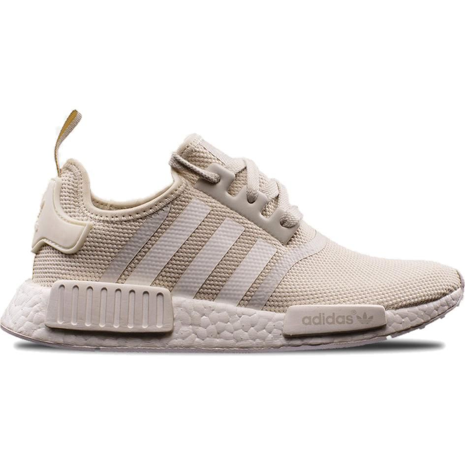 3d658fcee567b Adidas Nmd R1 in Talc Off White as seen on Justin Bieber