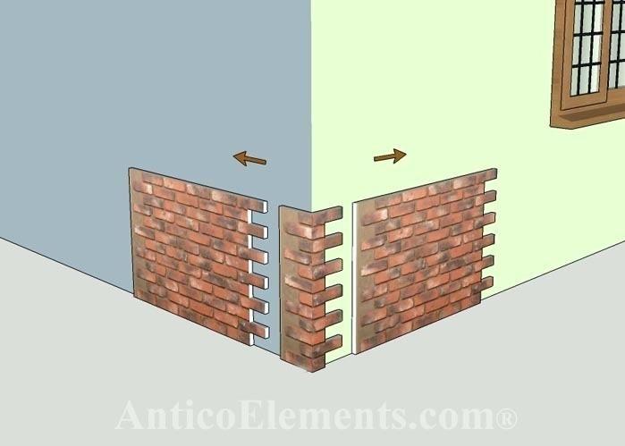 Faux Brick Corner Faux Brick Veneer Panels Canada Fake Brick Wall Canada Faux Stone Siding Panels Lowes Faux Brick Panels Brick Siding Faux Brick